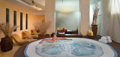 Vasca idromassaggio in Hotel Senigallia