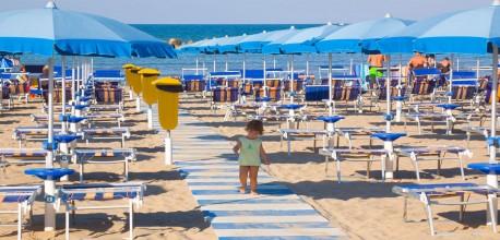 Spiaggia Senigallia per bambini