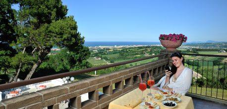 Hotel 3 stelle Senigallia con vista panoramica